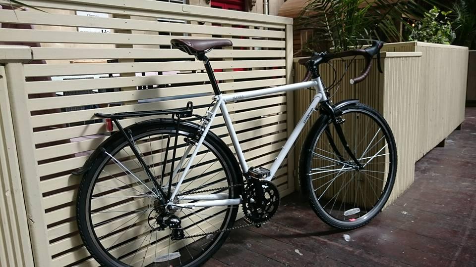 flat white bike