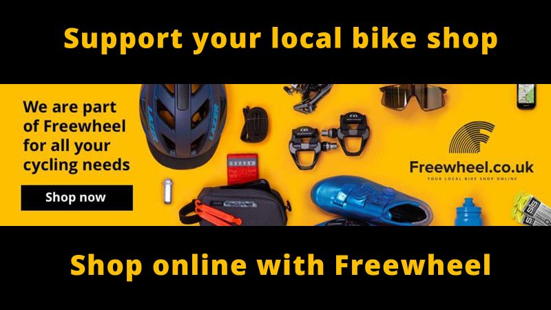 Support your local bike shop shop online with freewheel. click to shop now